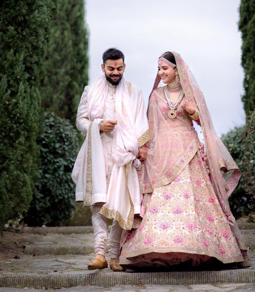 Image result for Virat and Anushka Wedding pictures