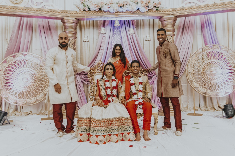 OOTTUM COLLECTIVE - Vanisha & Rajen - The Wedding Group Photos - High Resolution Images - 00039