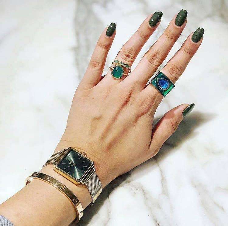 Taal Noir Rings